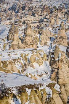 Cappadocia in winter, Turkey - бесплатный image #183031