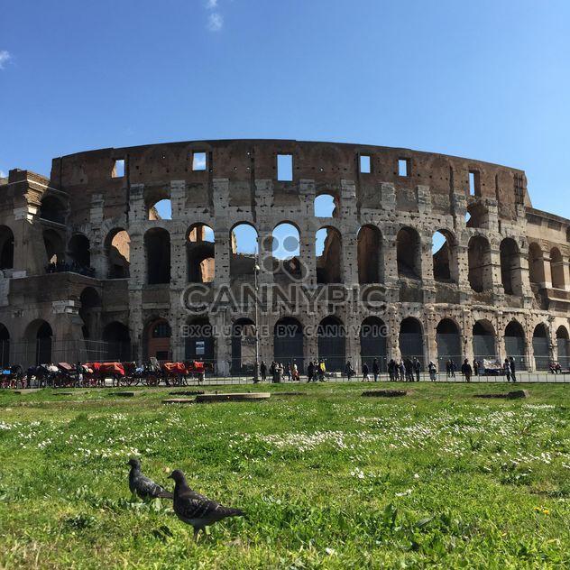 Colisée de rome, Italie - image gratuit #183071