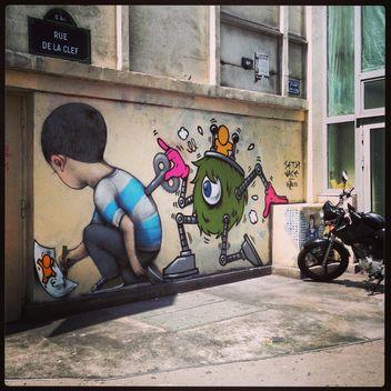 Paris streetart - image #183331 gratis