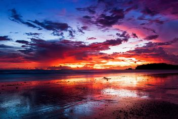 Colourful sunset - Kostenloses image #183511