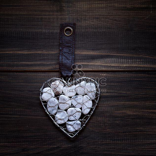 Металлическое сердце рок - бесплатный image #183581