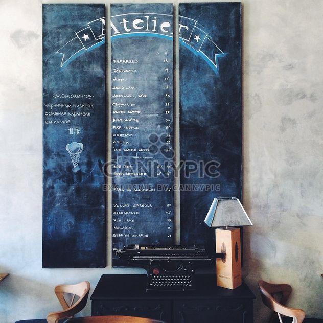 Informationen. Café - Kostenloses image #183631
