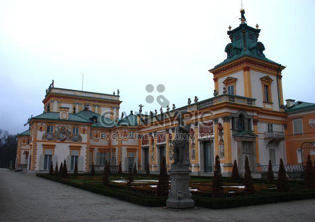 Palais de Wilanów à Varsovie - image gratuit #183761