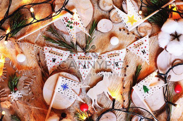 Красивая Рождественская композиция - бесплатный image #183781