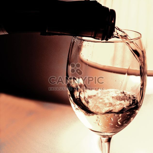 Wine glass and Bottle - Free image #184011