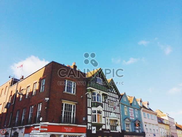 Colorful house on street of London, England - Free image #184061