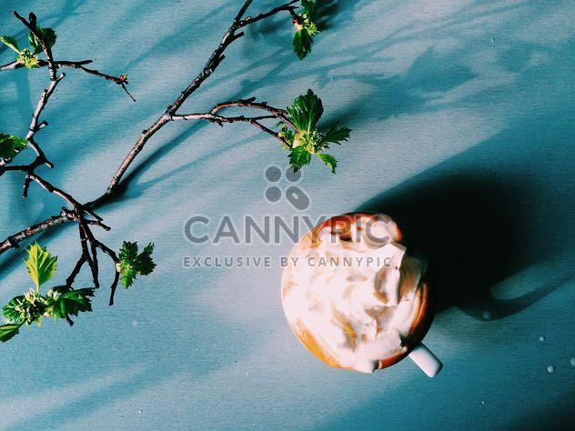 Kaffee mit Schlagsahne - Kostenloses image #184201