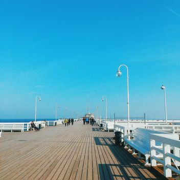 Pier in Sopot - Free image #184581