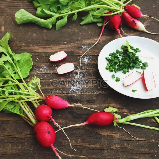 Fresh radishes - Free image #185741