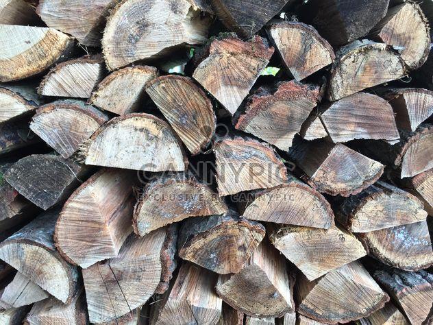 Pile de bois de chauffage - image gratuit #185801