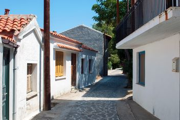 Street of mountain village - Kostenloses image #186061