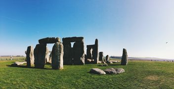 Stonehenge in Wiltshire, England - Kostenloses image #186221