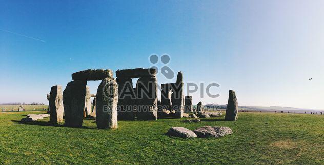 Stonehenge, Wiltshire, Angleterre - image gratuit #186221