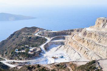 Quarry near Mochlos, Crete island - image gratuit #186271