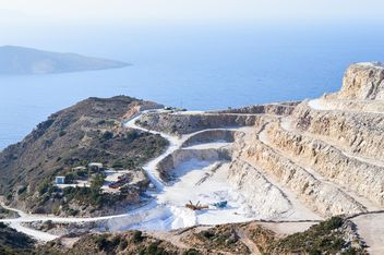 Quarry near Mochlos, Crete island - Kostenloses image #186271