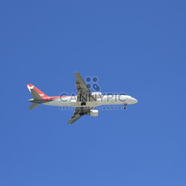 Airplane on background of sky - Free image #186641