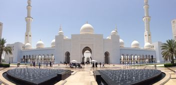 Sheikh Zayed Mosque, Abu Dhabi - Kostenloses image #186761