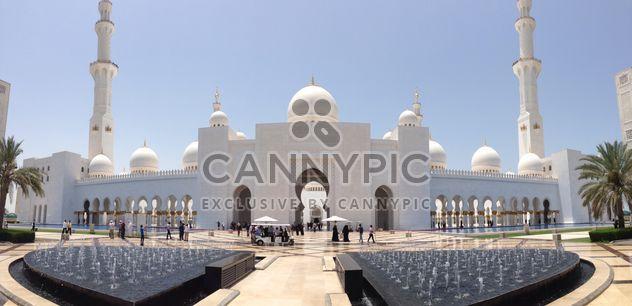 Mosquée Sheikh Zayed, Abou Dabi - image gratuit(e) #186761