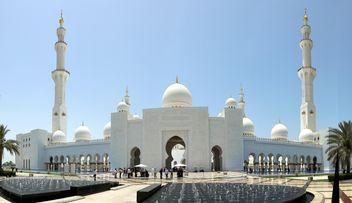 Sheikh Zayed Mosque, Abu Dhabi - image gratuit #186791