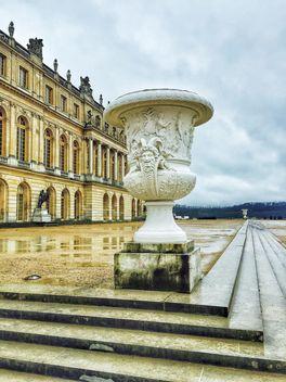Vase in Versailles garden - Free image #186831