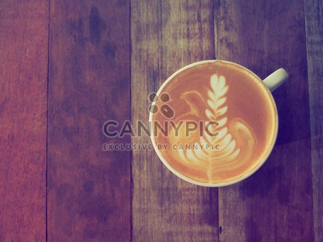Cup of coffee latte - Free image #186921