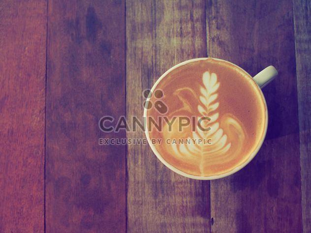 Чашка кофе латте - бесплатный image #186921