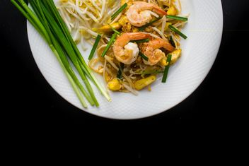 Thai food on a plate - Kostenloses image #187031