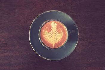 Cup of latte art - Free image #187061