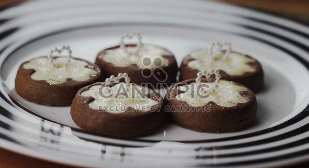lindas galletas de chocolate - image #187381 gratis