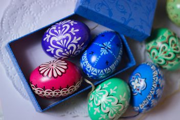 Decorative Easter eggs - image gratuit #187461