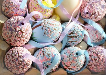 Painted Easter eggs - Free image #187501