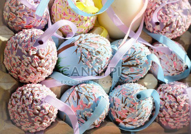 Ovos de Páscoa pintados - Free image #187501