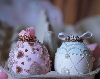 pair of princess easteregg - image #187521 gratis