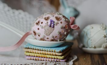 Easter cookies and decorative eggs - Kostenloses image #187531