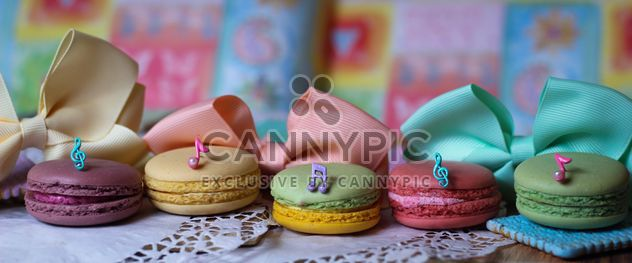 Colorful macaroons and cookies - Free image #187611