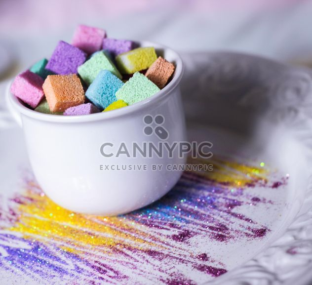 Colorful refined sugar - Free image #187641