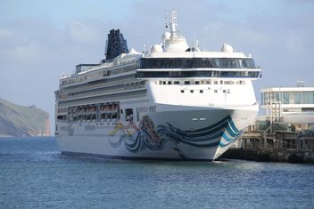 Norwegian Cruise Ship - image gratuit #187851