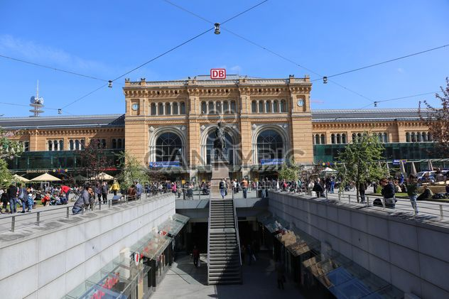 Hanovre Hauptbahnhof (gare centrale) - image gratuit(e) #187891