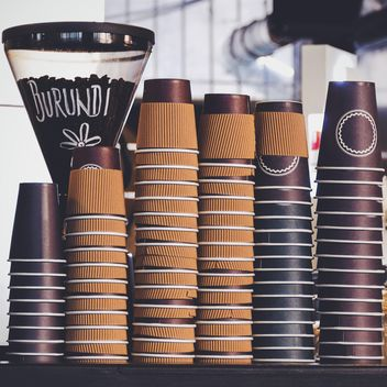 Coffee paper cups - image #187911 gratis