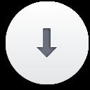 вниз - бесплатный icon #188211