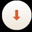 вниз - бесплатный icon #188311