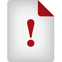 Page Warning - icon gratuit #188911