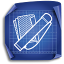 Tube Drawing Holder - icon gratuit #189291