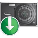 Photo Camera Down - icon gratuit(e) #190331