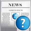 News-Hilfe - Kostenloses icon #190401