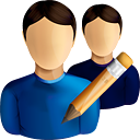 Users Edit - icon #190531 gratis