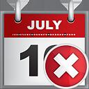Calendar Delete - Free icon #190811
