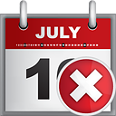 Calendar Delete - Kostenloses icon #190811