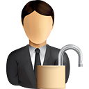 Business User Unlock - icon gratuit #190831
