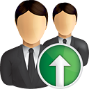Business Users Up - icon gratuit(e) #190861